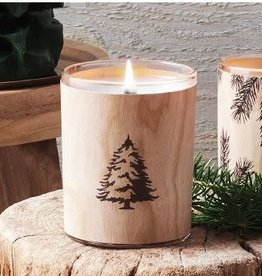 The Thymes Frasier Fir Wooden Wick Candle
