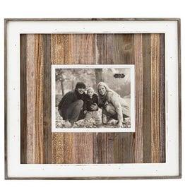 Mud Pie Large Variegated Wood Frame