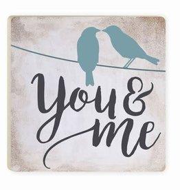 P. Graham Dunn You & Me Coaster