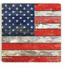 P. Graham Dunn American Flag Coaster