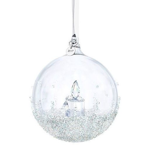 Swarovski Christmas Ball Ornament A.E. 2017 - Nest Feathers Gifts