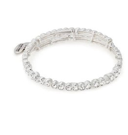 Alex and Ani Snowbell Wrap, SS