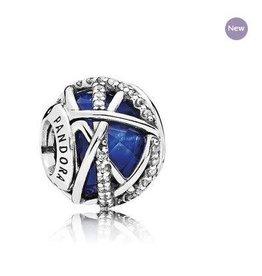 Pandora Jewelry Charm Galaxy Royblu Cry Clr Cz