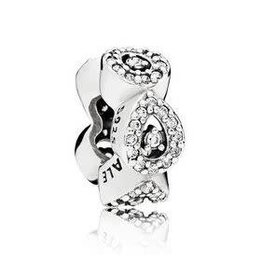 Pandora Jewelry Spacer Cascading Glamour, Clr Cz