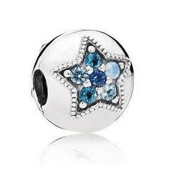 Pandora Jewelry Clip Bright Star Multiclr Cry