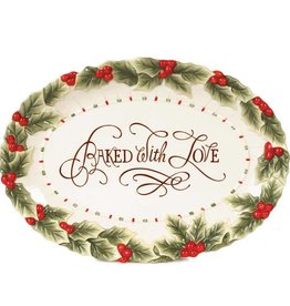 """Fitz and Floyd """"Baked With Love"""" Cookie Platter"""