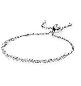 Pandora Jewelry Bracelet Sparkling Strand Cz 1
