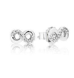 Pandora Jewelry Earring Infinite Love Clr CZ