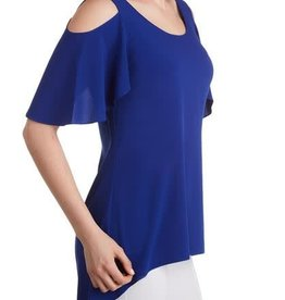 Stretch Cold Shoulder Tunic