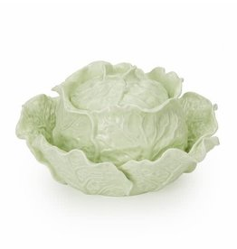 Twos Company Inc. Lettuce Tureen & Bowl Set