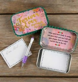 Natural Life Floral Forever & Ever Amen Prayer Box