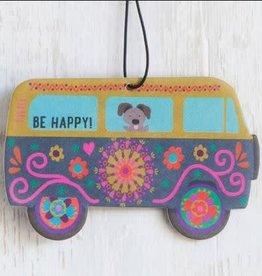 Natural Life Air Freshener Van Be Happy