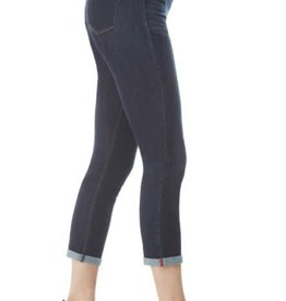 Cuff Crop Denim 5 Pocket Jean