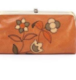 HOBO Lauren Floral Patch Clutch Wallet - Earth