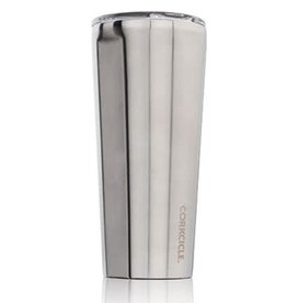 Corkcicle Tumbler 24 oz Brushed Steel