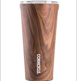 Corkcicle Tumbler 16 oz Walnut Wood