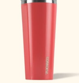 Corkcicle Tumbler 24 oz Gloss Coral