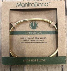 Faith Hope Love Gold