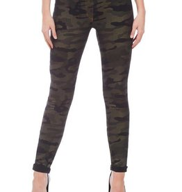 Luxe Denim Slims Metallic Camo Skinny