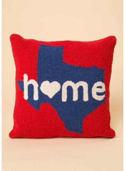 Home In Texas Pillow