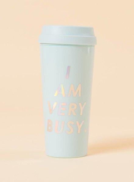 Bando I Am Very Busy Thermal Mug