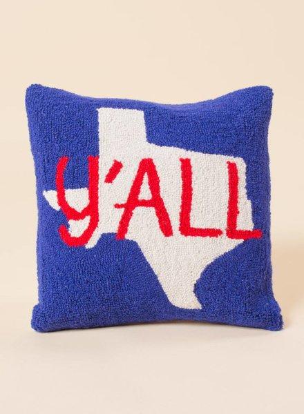 Texas Yall Pillow