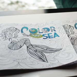 Color the Sea- Coloring Book