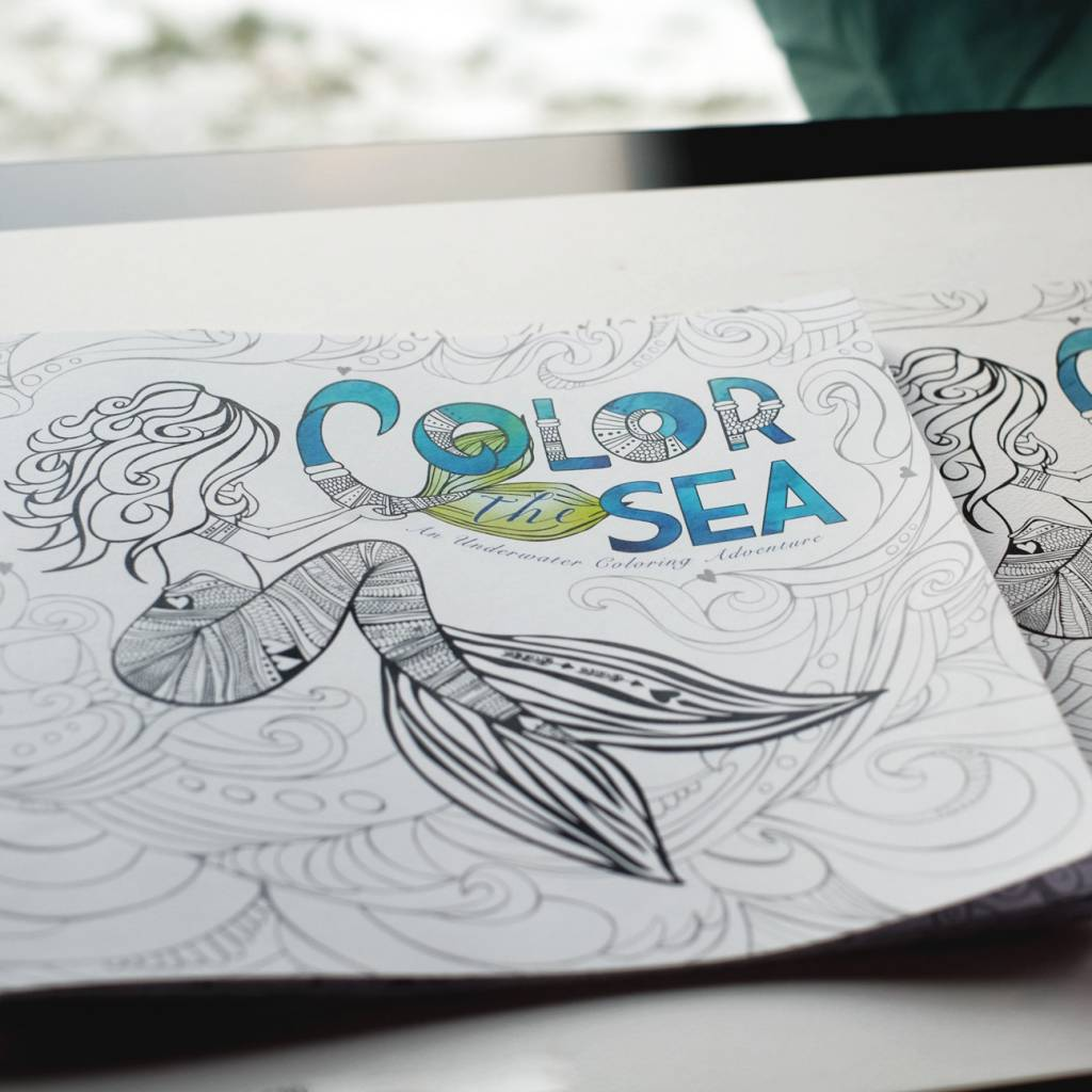 Color the Sea- Coloring Book