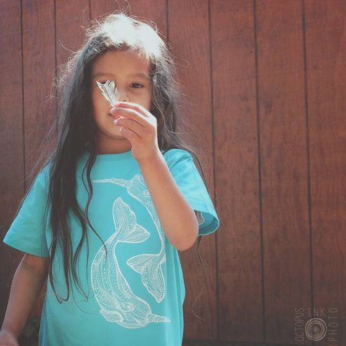 Narwhal Love- Kids, Tee