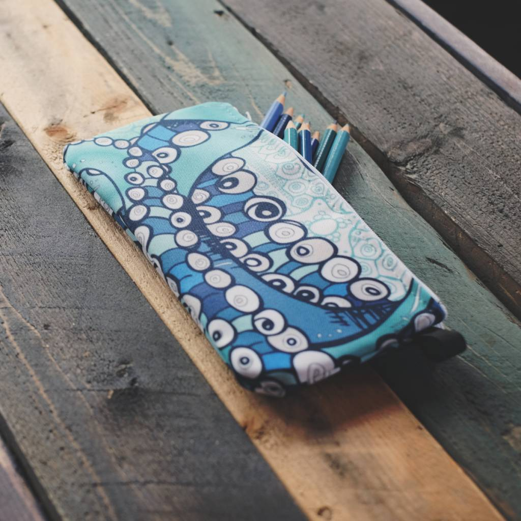 Tentacle- Zippered Pouch