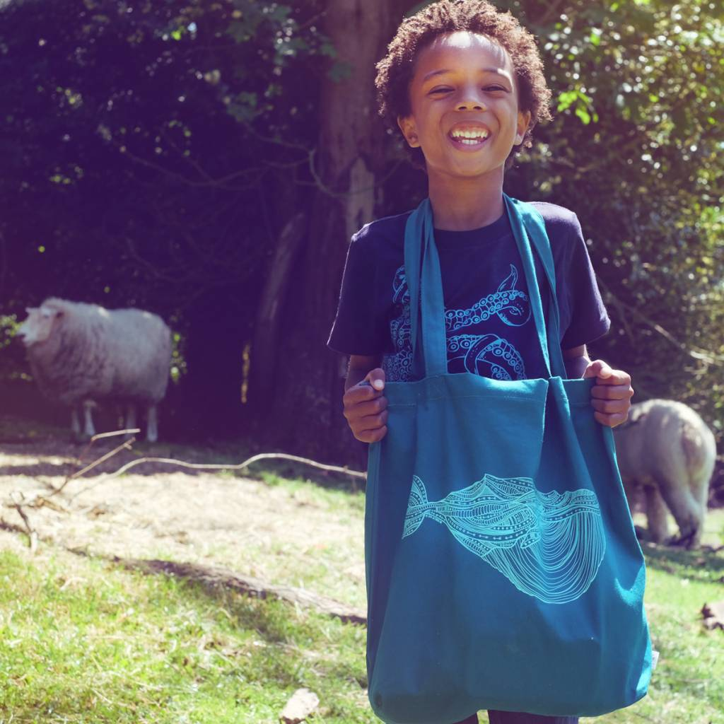 Blue Whale- Tote