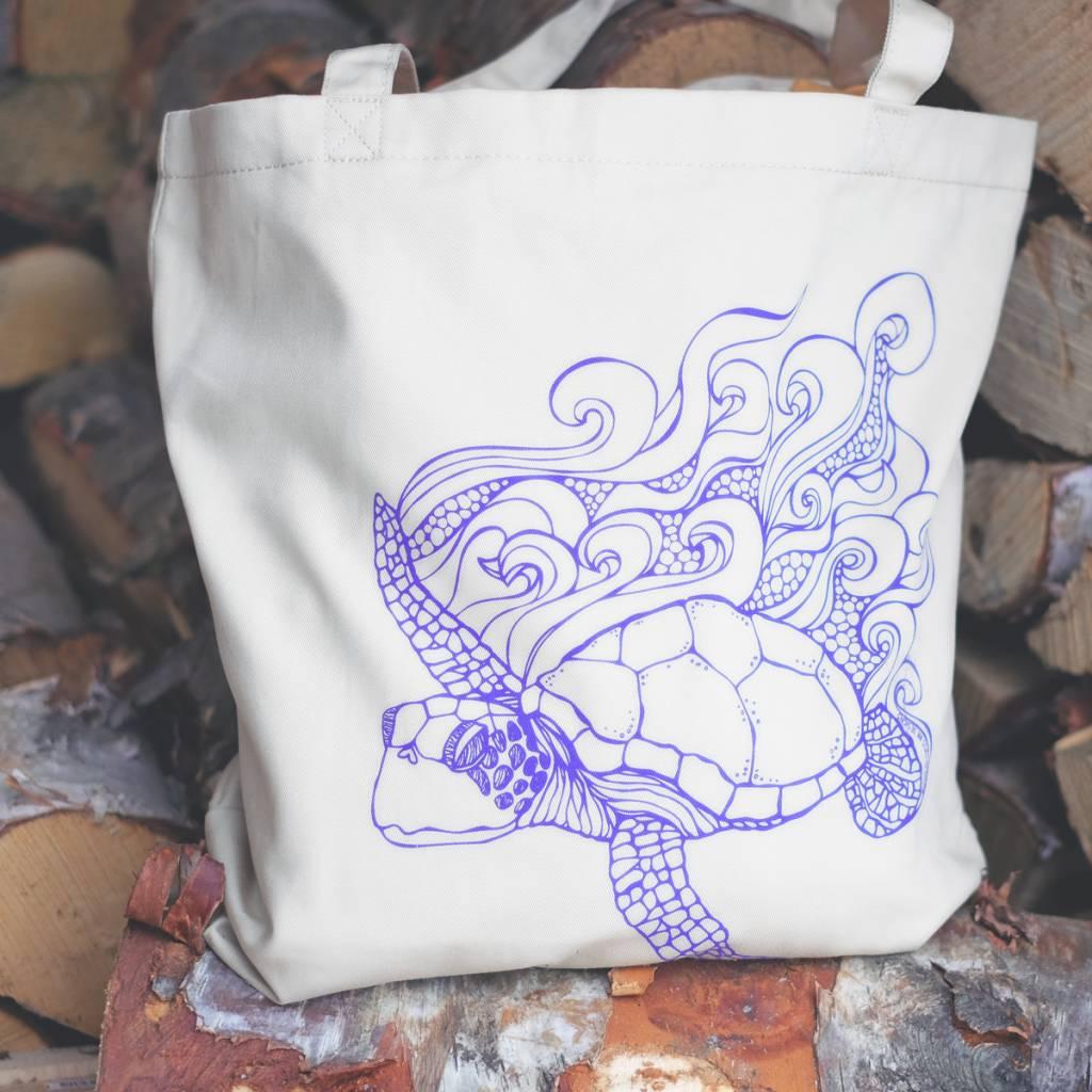 Sea Turtle- Tote