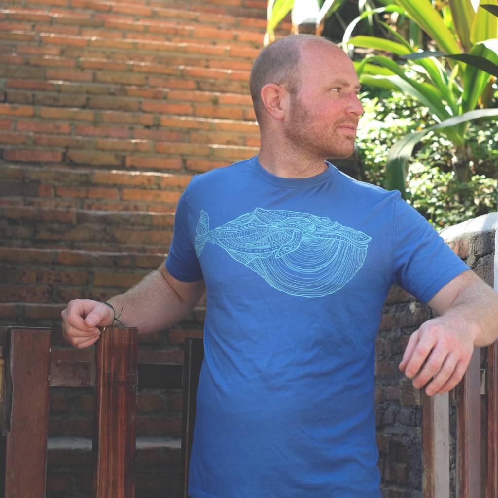 Blue Whale- Men's Tee