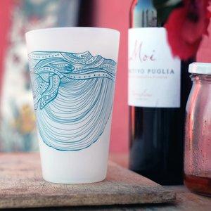Blue Whale (Clear)- Pint