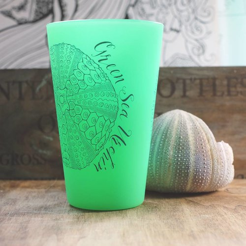 Green Sea Urchin- Pint Glow Green