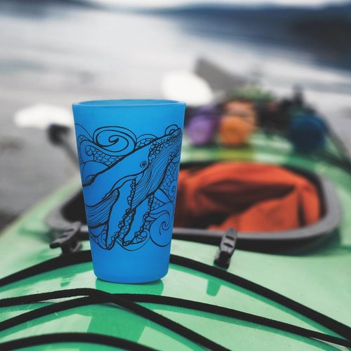 Humpback Whale- Pint Blue