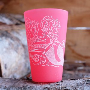 Mermaid & Octopus (Red)- Pint