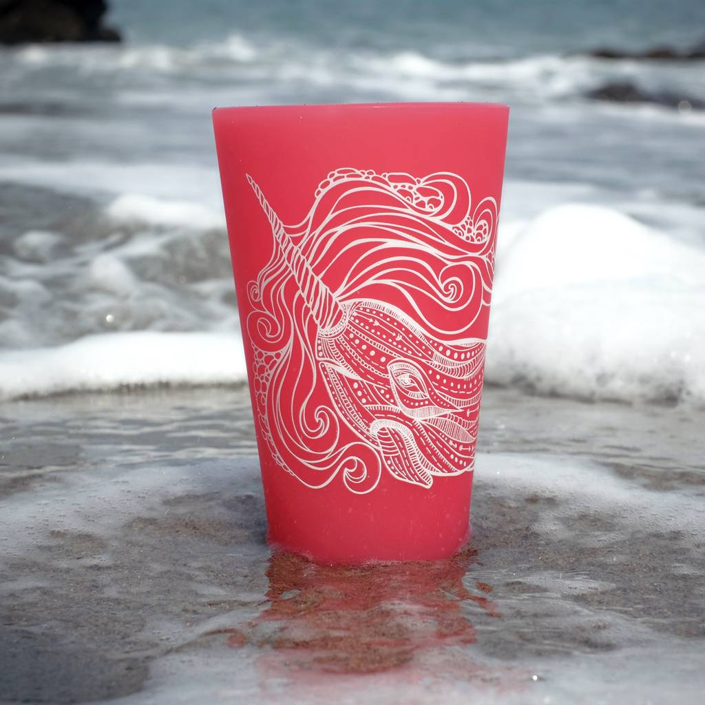 Narwhal- Pint Red