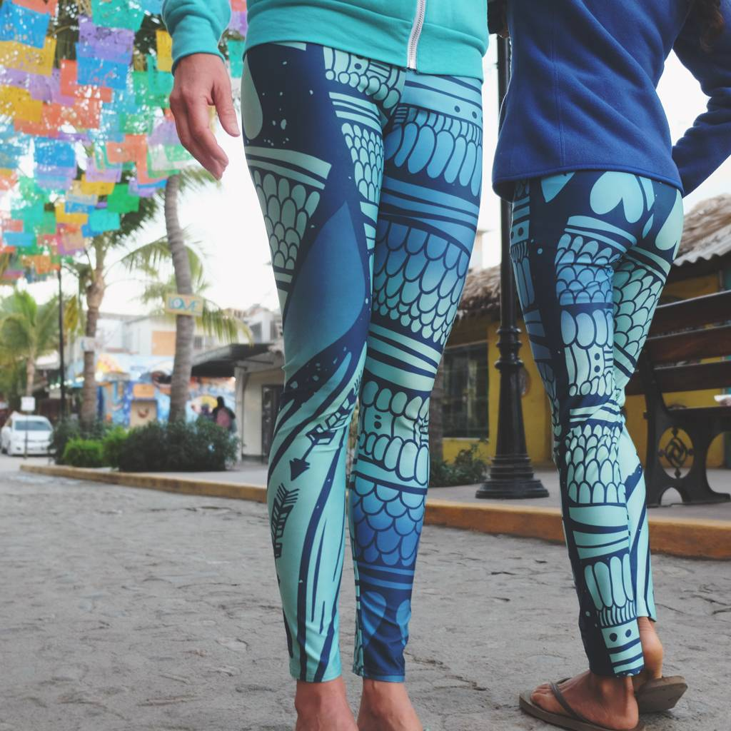 Mermaid- Yoga Leggings