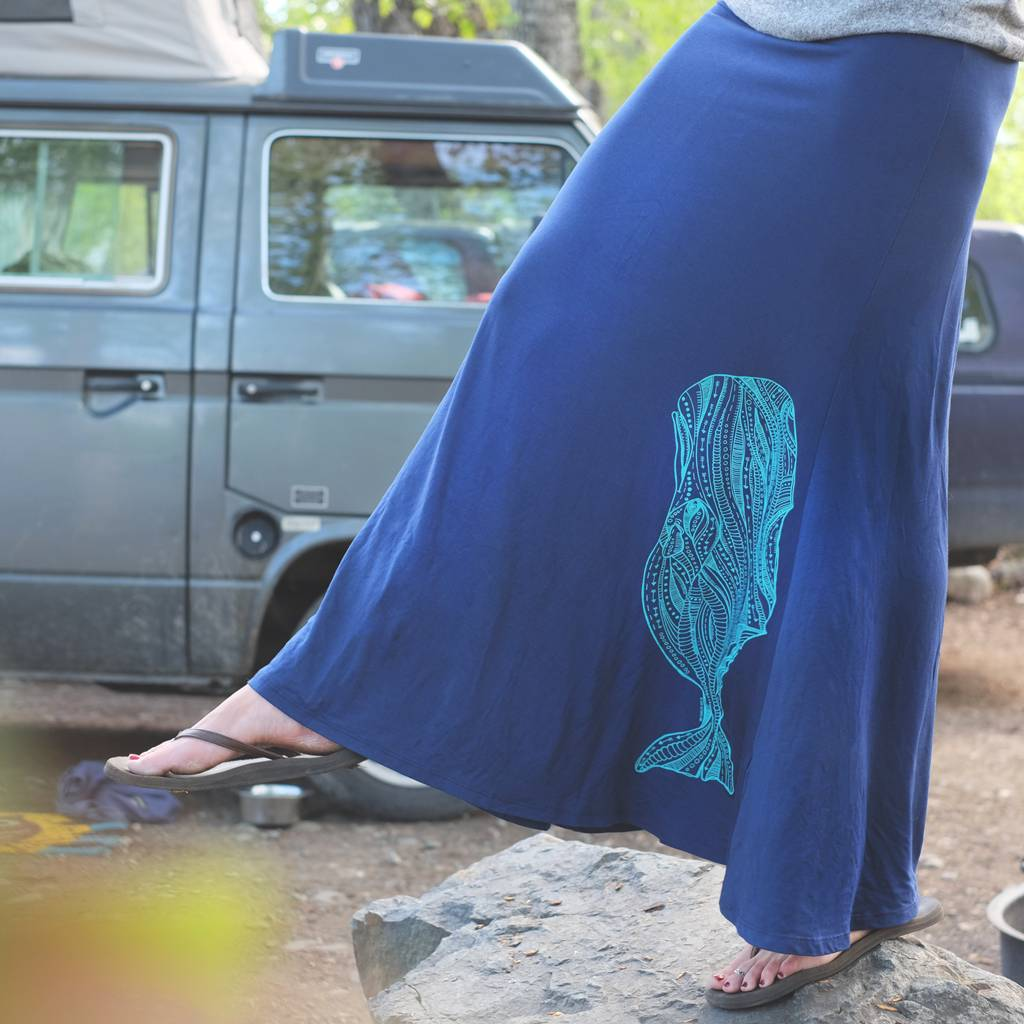 Sperm Whale- Skirt, Long