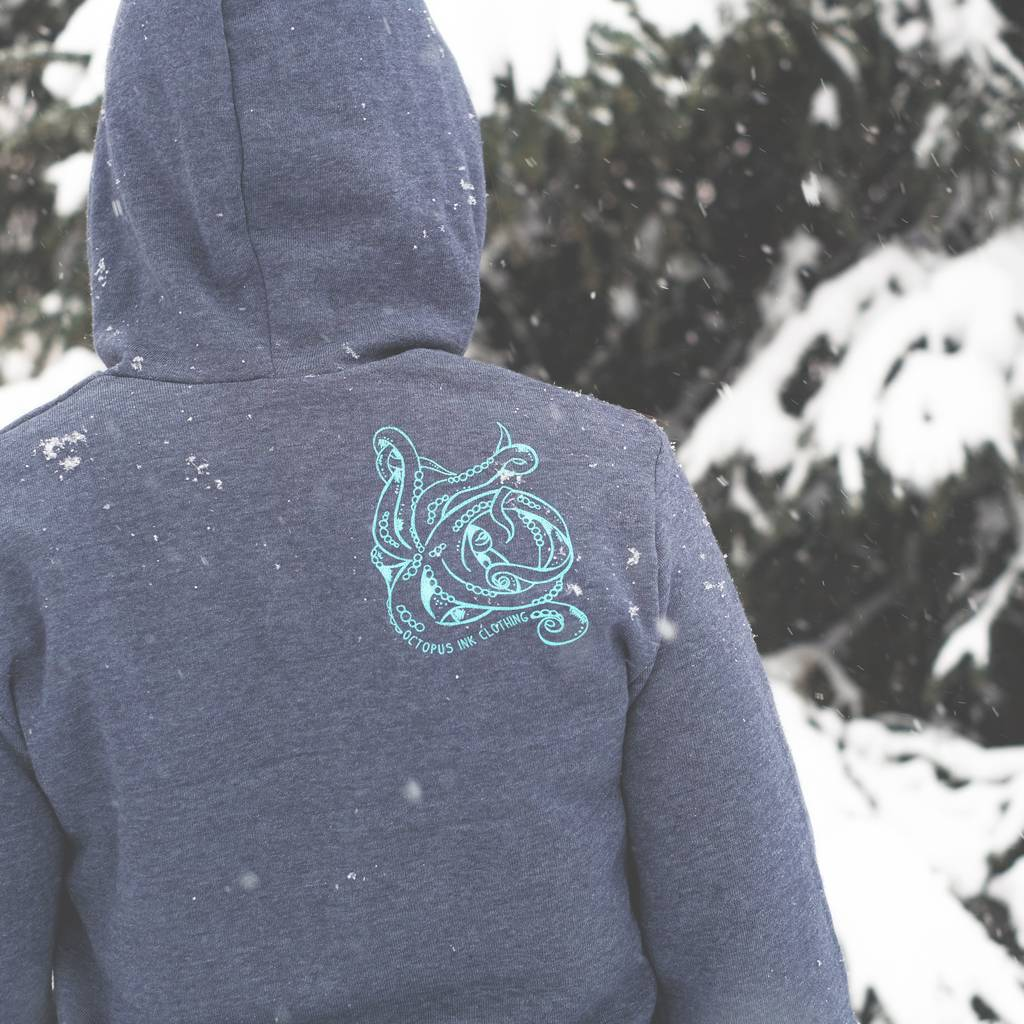 Sea Turtle- Fleece Pullover, Unisex