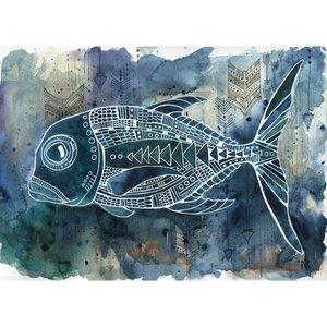Jackfish- 5 x 7 Print