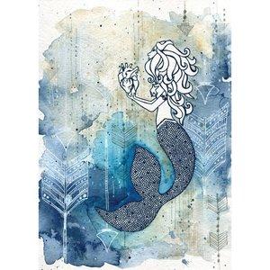 Mermaid's Heart- 5 x 7 Giclee