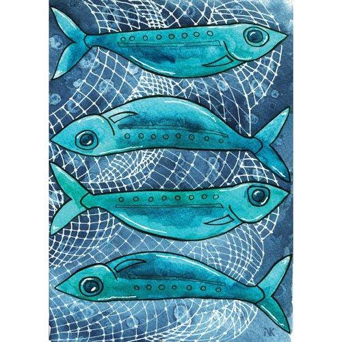 Sardines- 5 x 7 Print