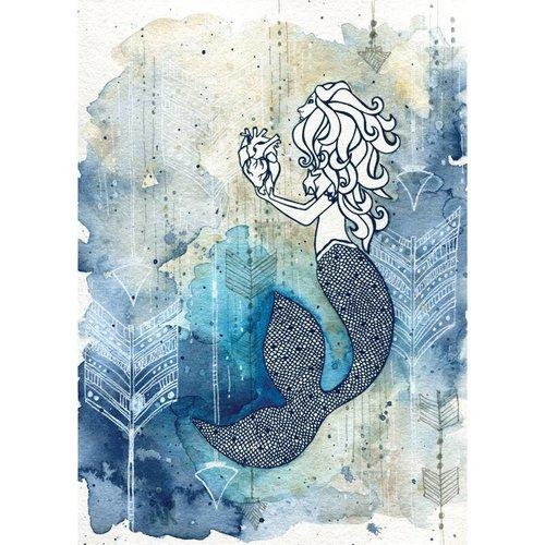 Mermaid's Heart- 8 x 10 Giclee