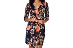 CARTER WRAP DRESS