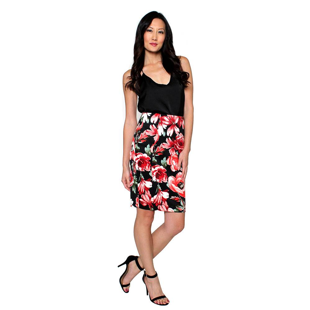 Max Floral Print Pencil Skirt | Shop Skirts From Primp Boutique ...