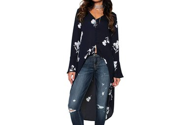 FLORA HIGH-LOW TUNIC