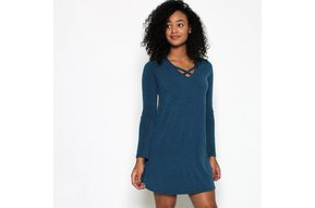 STAR CROSSED SWEATER DRESS