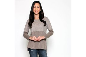 TIP TAUPE SWEATER